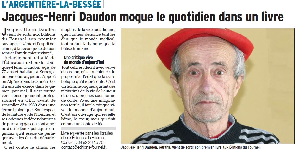 ARTICLE DL 16 mars 2017 daudon